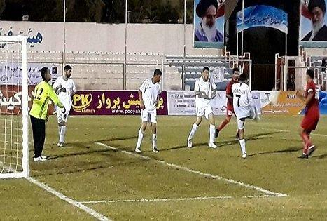 دومین پیروزی تیم فوتبال هفت نفره ایران برابر اردن