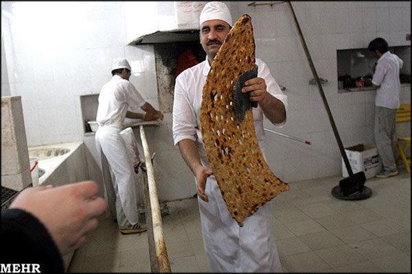 کیفیت نان در قم دچار نوسان است، جلوگیری از ورود گندم بی کیفیت