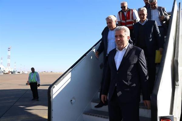 مونسان وارد شهر شیراز شد