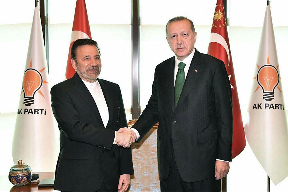 واعظی در دیدار رئیس جمهور ترکیه: هیچ مانع و محدودیتی در مسیر گسترش مناسبات تجاری و اقتصادی با ترکیه قائل نیستیم