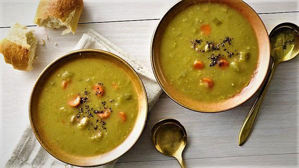 طرز تهیه سوپ نخود مدیترانه ای