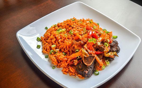 دستور تهیه یک نوع غذای خوشمزه آفریقایی
