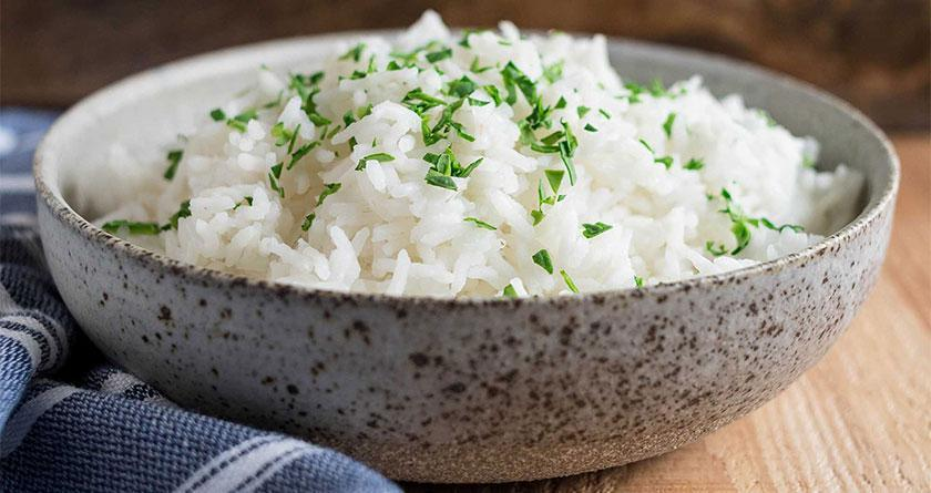 طرز تهیه انواع برنج کته