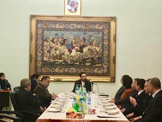رسیدگی به امور زندانیان ایرانی در ایروان در دیدار سجادی با رئیس سازمان زندان های این کشور