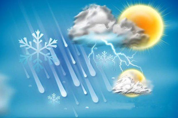 پیش بینی بارش باران و برف در بیشتر نقاط استان اصفهان