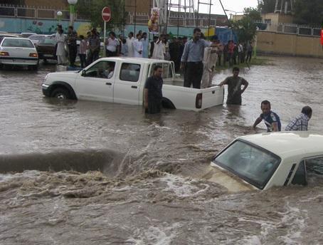 اخطاریه دوباره هواشناسی نسبت به بارش های سنگین و جاری شدن سیلاب در سیستان و بلوچستان