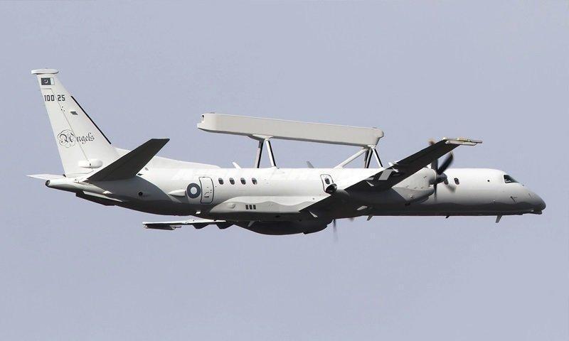 پاکستان هواپیماهای پیشرفته سوئدی را تحویل گرفت