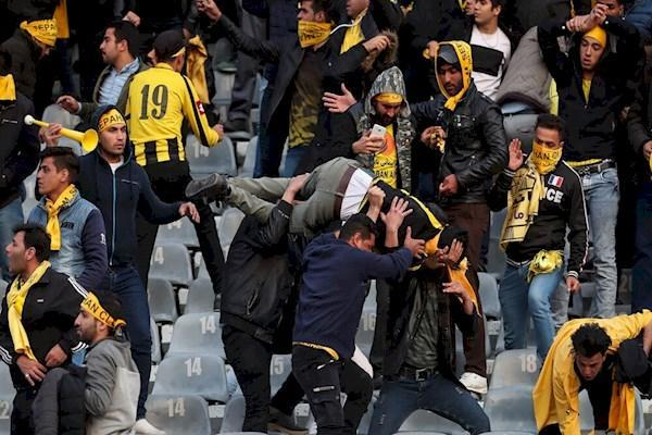 خسارت سنگین به استادیوم آزادی