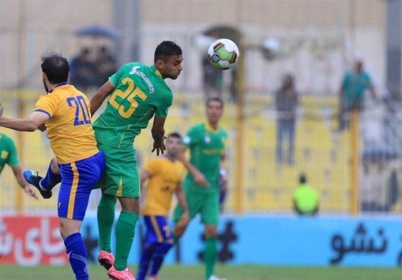 لیگ برتر فوتبال، پیروزی یک نیمه ای نفت آبادان مقابل هم نام مسجدسلیمانی