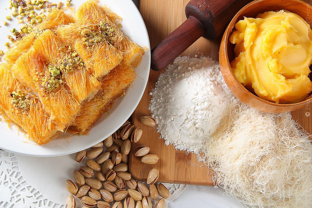 طرز تهیه دسر کنافه پنیری ترکی؛ یک دسر عربی-ترکی خوشمزه و تاریخی