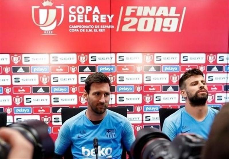 مسی: در شکست مان مقابل لیورپول والورده مقصر نبود، به فکر ترک بارسلونا اسپانیا نیفتاده ام