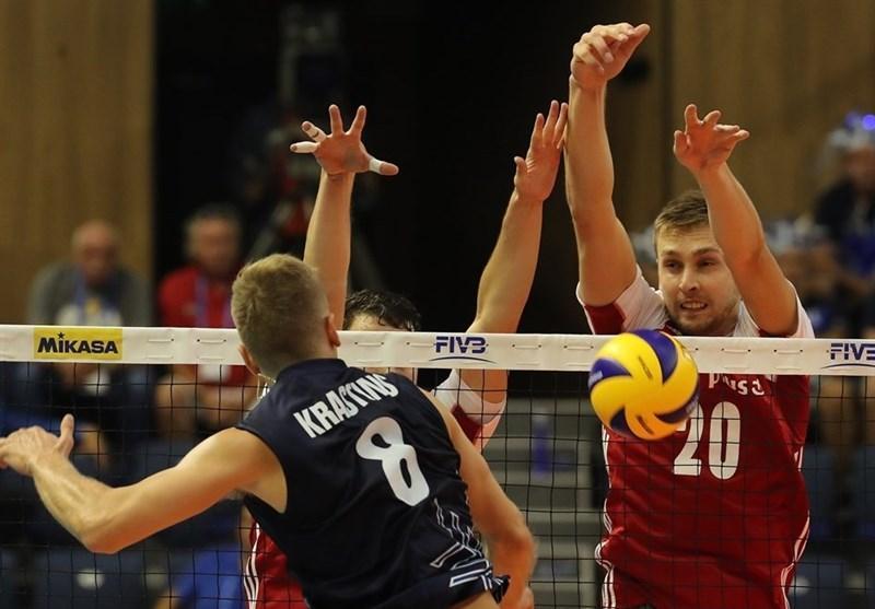 لیگ ملت های والیبال، اعتراض تماشاگران ارومیه ای به لهستانی ها، والیبالیست ها، فوتبالیست شدند
