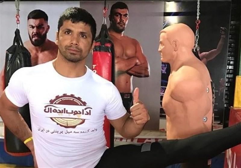 فزونی کاپیتان سابق تیم ملی کاراته در مسابقات MMA