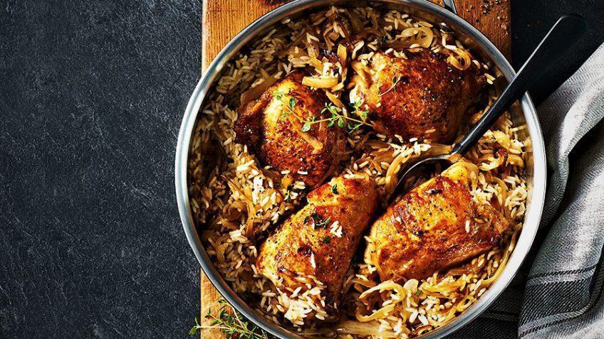 دستور تهیه بریانی مرغ کویتی، غذای خوشمزه عربی
