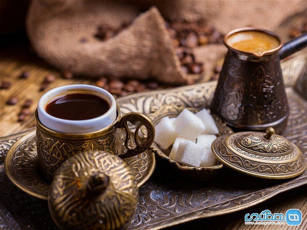 آشنایی با خواص و شیوه تهیه قهوه ترک ، نوشیدنی محبوب و جهانی