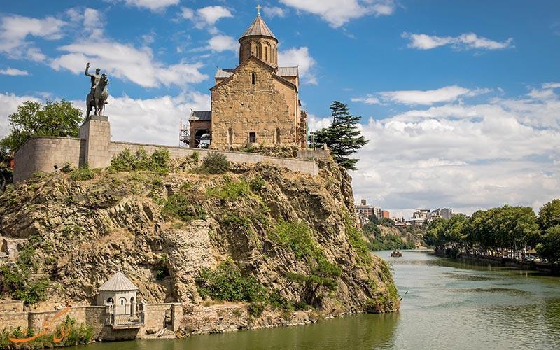 کلیسای متخی، یادگاری از قرن 12 در تفلیس!