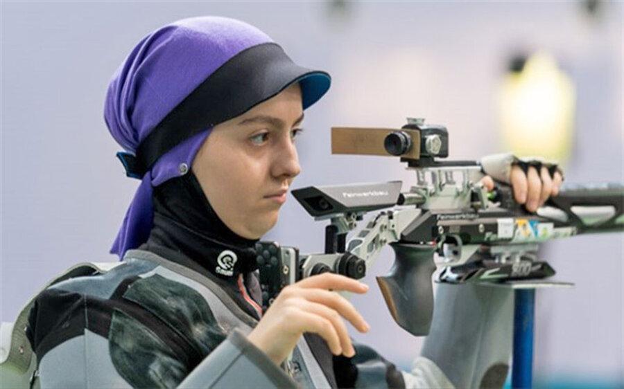 جام جهانی تیراندازی؛ صادقیان در تفنگ بادی چهارم شد و دومین سهمیه المپیک را کسب کرد