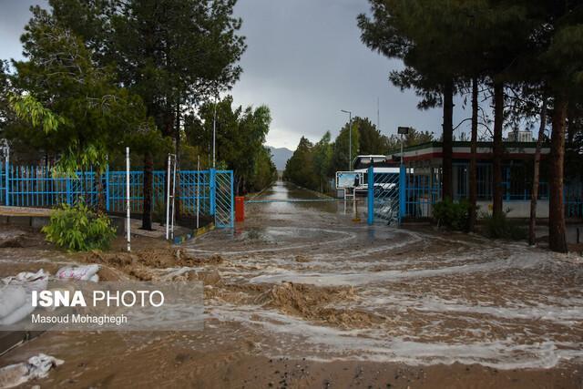 احتمال آبگرفتگی مسیل ها در آذربایجان غربی