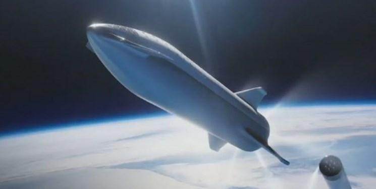 استارشیپ در مریخ فرود می آید