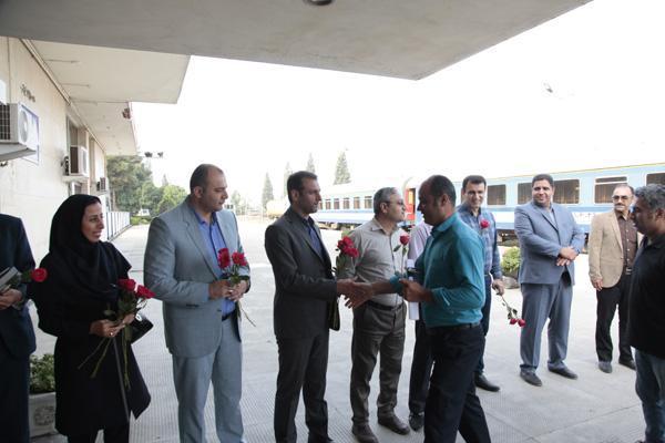 استقبال از مسافران ورودی به استان گلستان هم زمان با هفته گردشگری