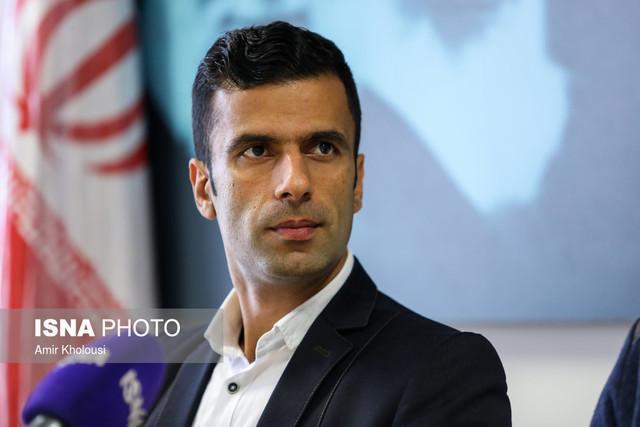 محمد احمدزاده، نماینده ایران در افتتاحیه بازی های ساحلی دنیا شد