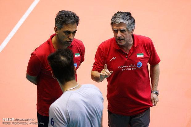تغییرات تازه در تیم والیبال، لوزانو چهار بازیکن جدید را فرا خواند