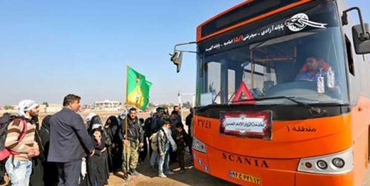 اعزام 600 دستگاه اتوبوس از تهران به مرز های عراق