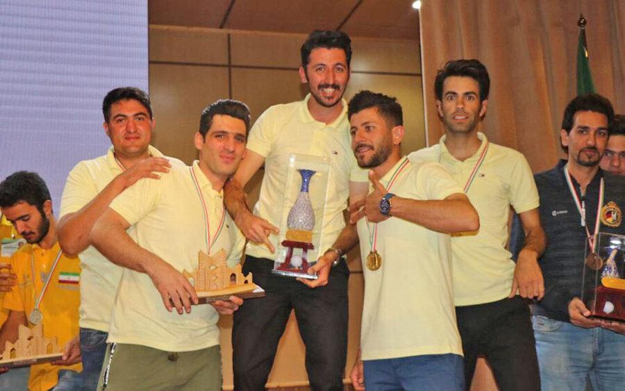 نتایج مسابقات مینی گلف قهرمانی کشور اعلام شد