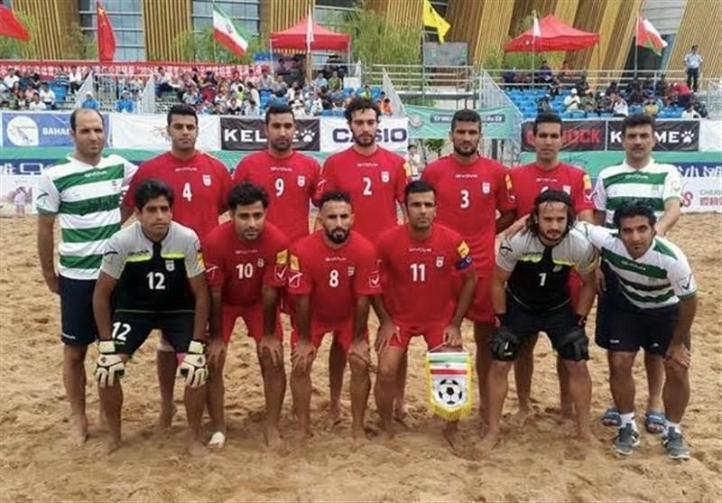 تیم ملی فوتبال ساحلی ایران قهرمان جام قاره آسیا شد