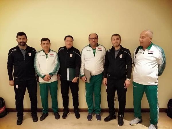 عکس یادگاری مدیران تیم های ملی ایران و عراق
