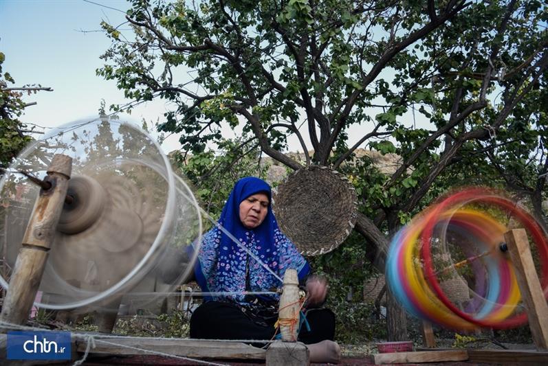 حوله های سنتی روستای جهانی خراشاد در چمدان گردشگران خارجی