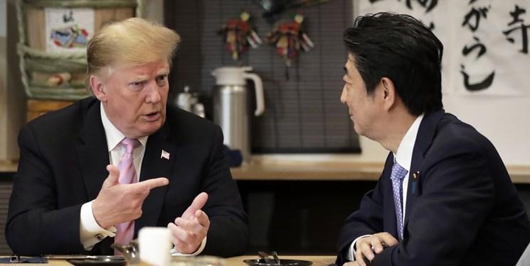 نخست وزیر ژاپن تلفنی با ترامپ گفت وگو کرد