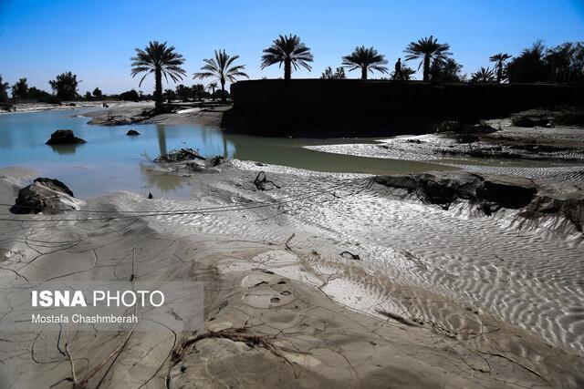 علت طغیان بعضی رودخانه های استان هرمزگان