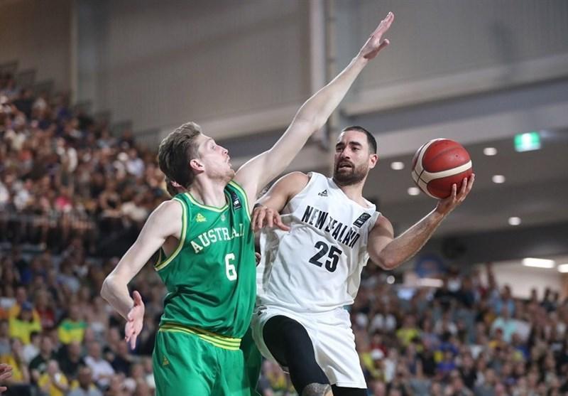 بسکتبال انتخابی کاپ آسیا، استرالیا مغلوب نیوزیلند شد