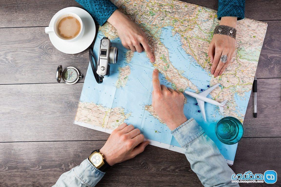 برنامه ریزی برای سفر ، سفر خود را هوشمندانه مدیریت کنیم