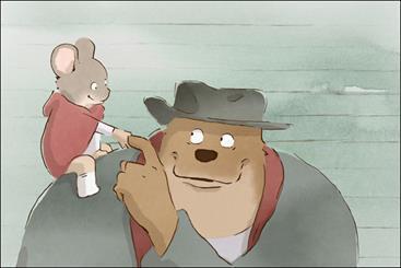 موش و خرس دست دوستی می دهند، ارنست و سلستین با رنگ و بوی شرقی