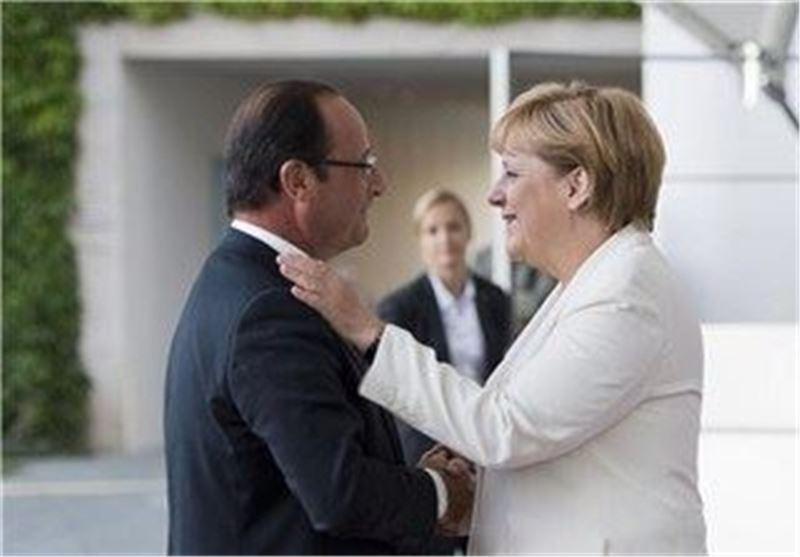 اولاند و مرکل دوشنبه درباره یونان ملاقات می نمایند
