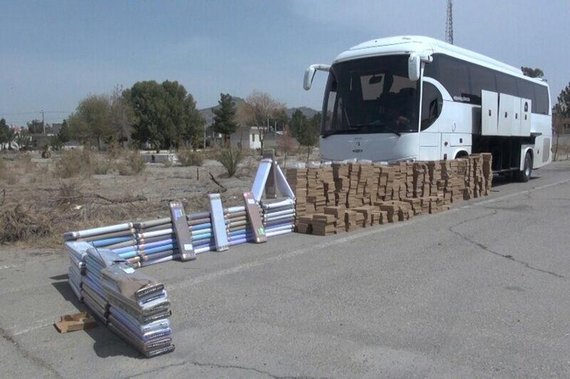 خبرنگاران بیش از 2 میلیارد ریال کالای قاچاق در یزد کشف شد