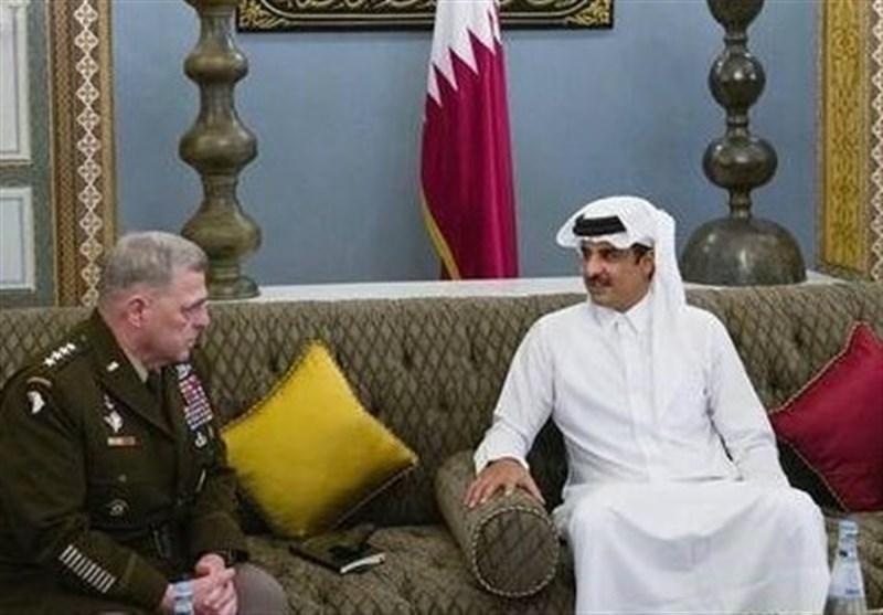 ملاقات ژنرال مارک میلی با شیخ تمیم در دوحه؛ آنالیز همکاری نظامی آمریکا و قطر