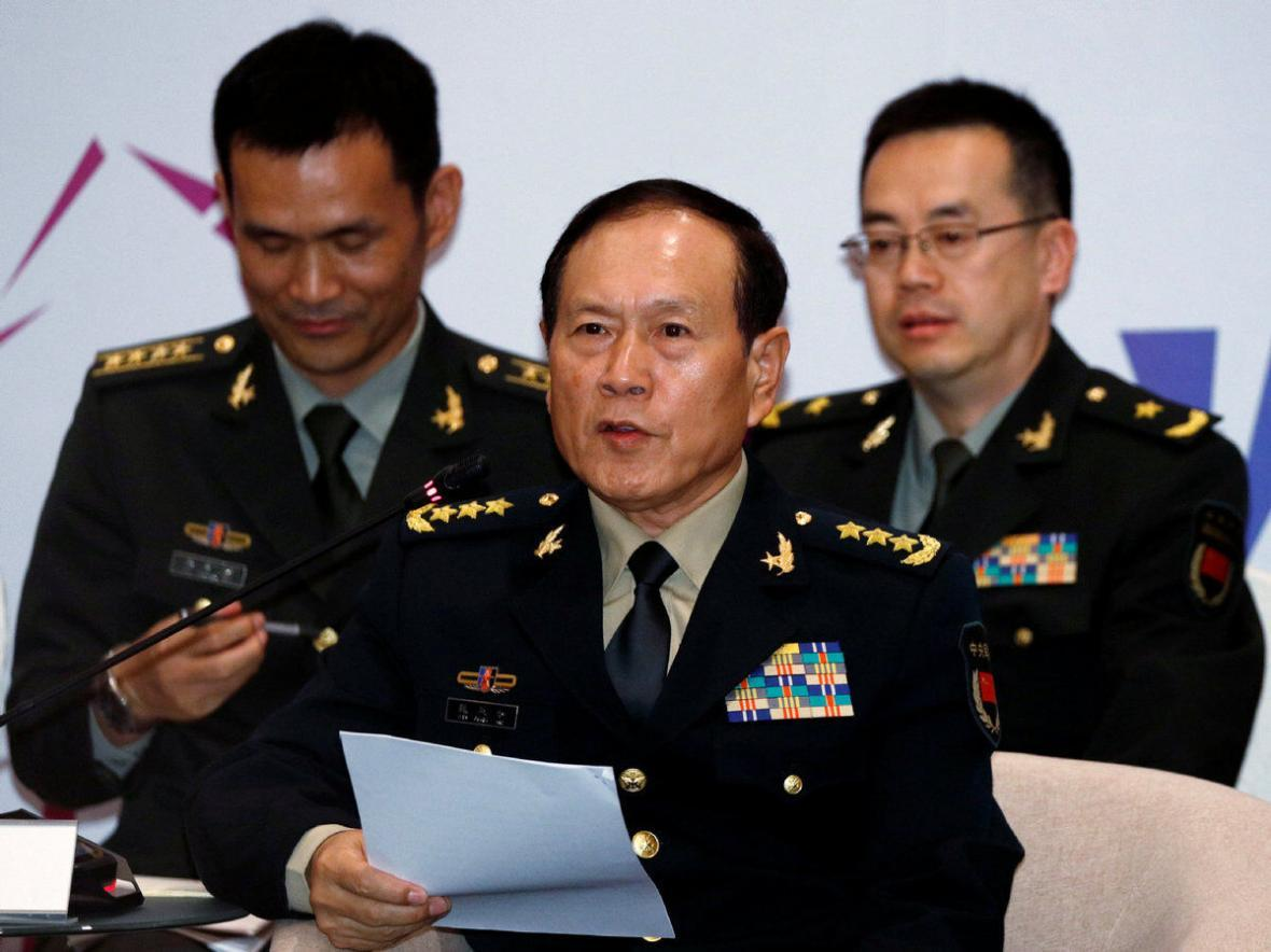 وزیر دفاع چین: روحیه جنگندگی خود را تقویت می کنیم