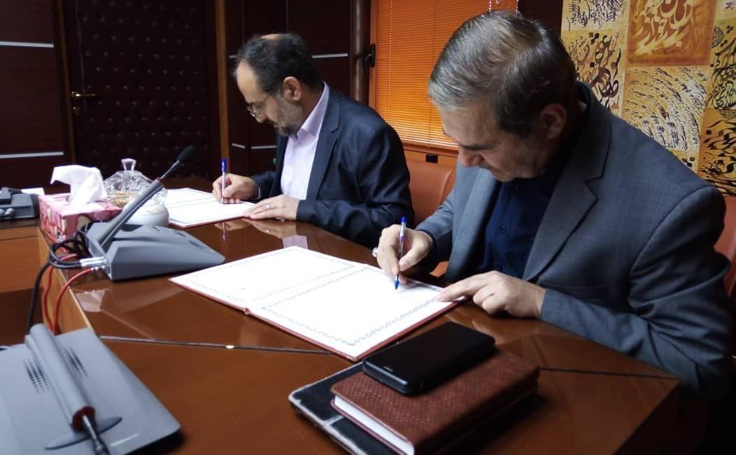 تفاهم نامه همکاری واحد فرشچیان با فرهنگستان هنر امضا شد