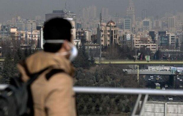 هوای تهران باز هم برای گروه های حساس ناسالم شد