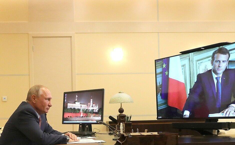 خبرنگاران پوتین و مکرون برهمکاری مشترک برای رفع مسائل جهان تاکید کردند