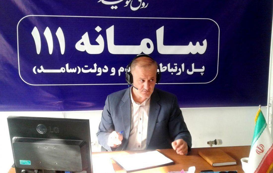 خبرنگاران مدیران کل ثبت احوال و اقتصاد و دارایی آذربایجان غربی فردا، میهمان سامانه 111