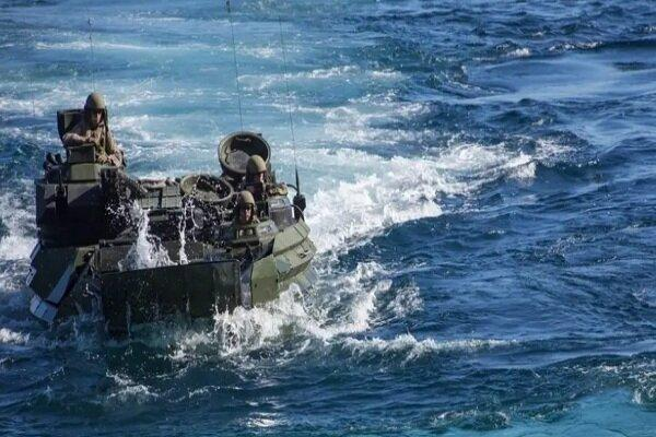 یک تفنگدار دریایی آمریکا کشته، 8 نظامی مفقود و 2 نفر هم زخمی شدند