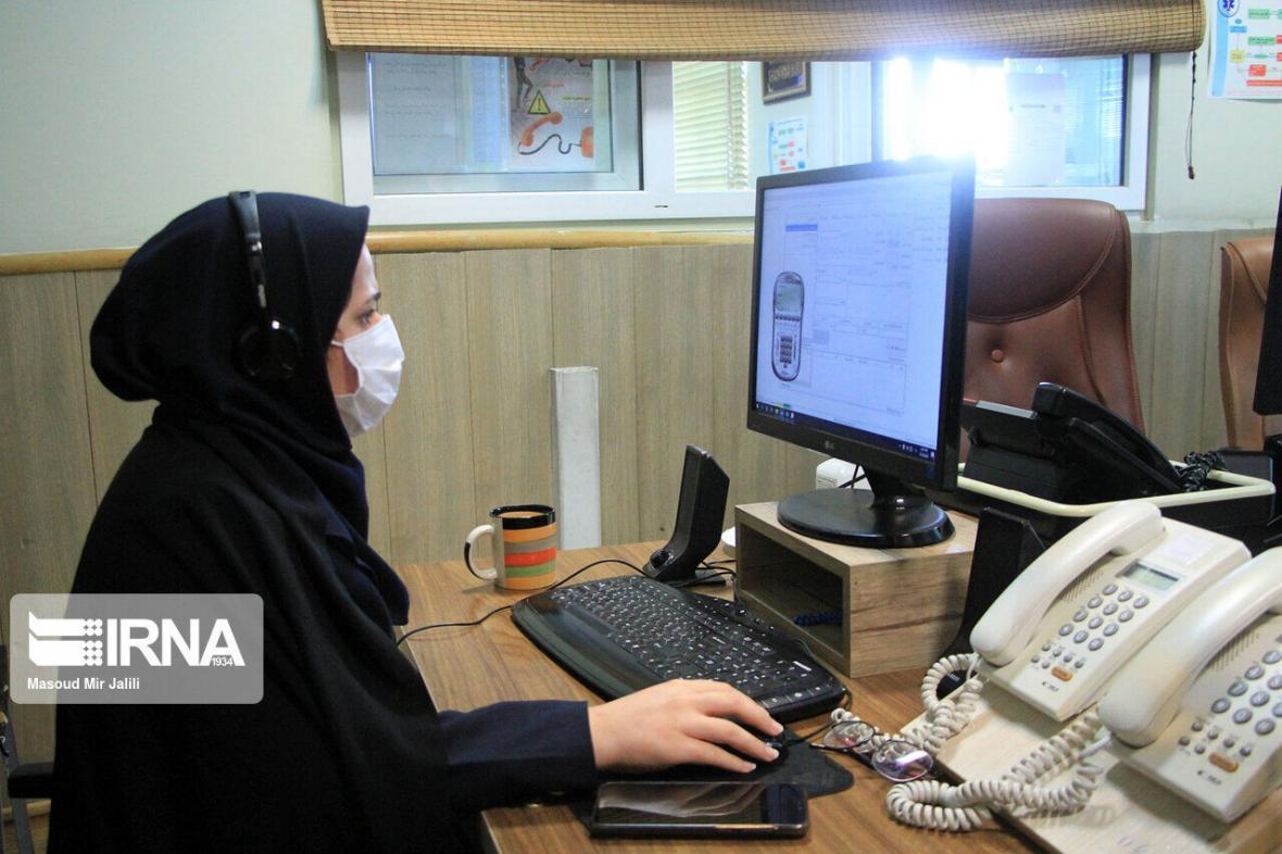 خبرنگاران سامانه تلفنی 111 جوابگوی سوالات کرونایی مردمی استان سمنان است