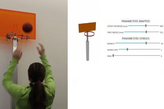 طراحی حلقه هوشمند بسکتبال