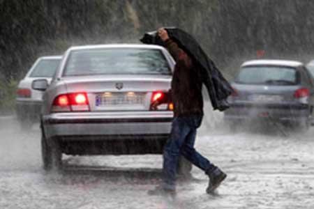 بارش شدید باران در 15 استان ایران