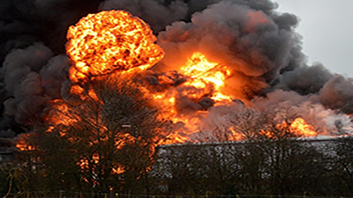 انفجار یک واحد مسکونی در خرم آباد بر اثر نشت گاز