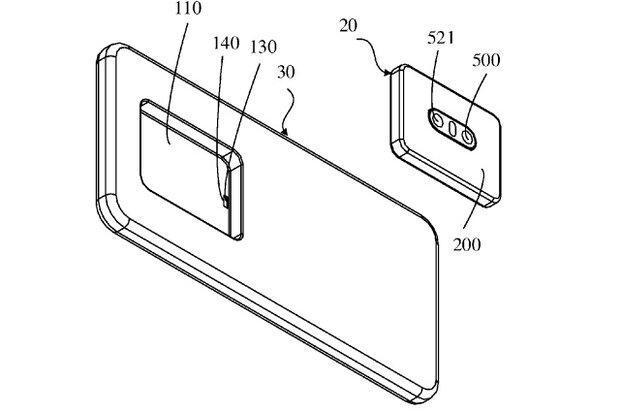 ماژول دوربین موبایل متحرک می شود
